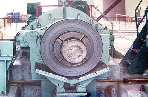 四棱锥液压胀缩卷取机图片